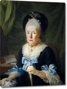 Карнисеро Антонио. Томаса де Алиага, вдова Сальседо