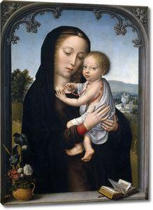 Герард Давид (приписывается). Мадонна с младенцем