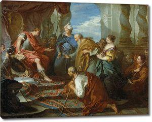 Франсуа Буше. Иосиф представляет своего отца и братьев фараону