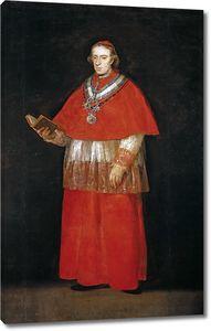 Гойя и Лусиентес Франсиско де. Кардинал Луис Мария де Бурбон и Вальябрига