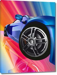 Крупным планом колес машины