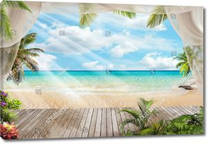 Терраса с прекрасным морским видом
