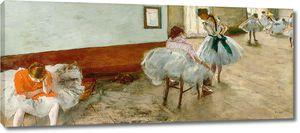 Дега - Урок танцев , 1879