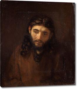 Рембрандт. Голова Христа