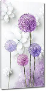 Цветущий лук