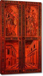 Боттичелли. Двери для Тронного зала в Палаццо-Дукале