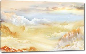 Небо над мраморными горами