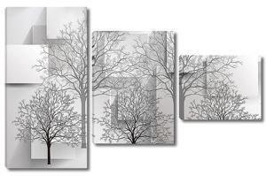 Деревья с прямоугольниками