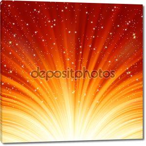 Абстрактные огонь свечение фон. EPS 8