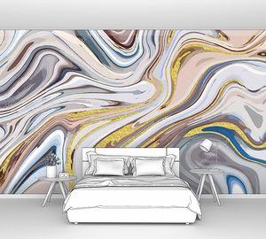 Абстрактный рисунок многоцветный