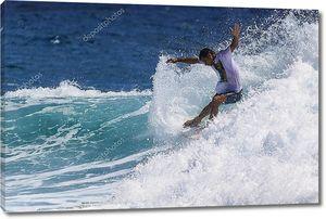 Соревнования серферов
