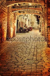 Старая фотография Европейского-стрит