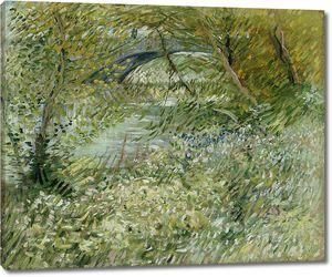 Ван Гог. Берег реки весной