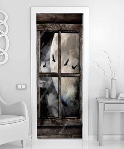Птицы в полнолуние за окном
