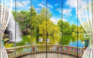 Веранда над озером