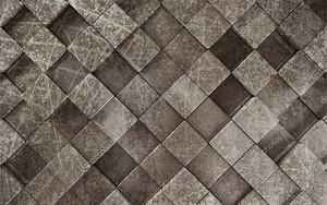 3d иллюстрация, темно-серая квадратная плитка, абстрактный рисунок гранж