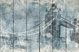 Мост Тауэр Лондона, цифровое искусство