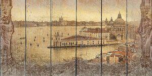 Вид с набережной на архитектуру
