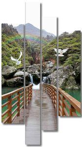Мост к скалам