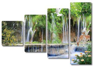 Отвесный водопад