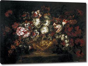 Габриэль де ла Корте.Ваза с цветами