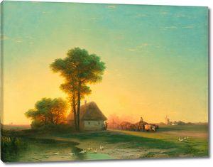 Айвазовский. Вечер на Украине