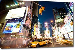 Нью-Йорк Сити - 3 сентября 2010 г. - Таймс-сквер