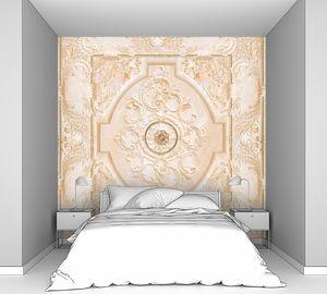Потолочный фресочный узор