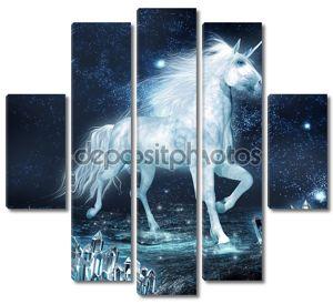 Единорог и кристалл поле