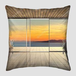 Эркерное окно с видом на море