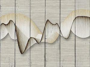 Абстрактная линия гор