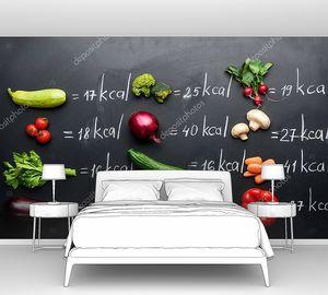 Свежие овощи и калории