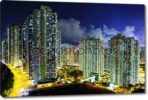 Световая жилое здание в Гонконге