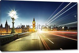 Биг Бен от Вестминстерский мост, Лондон