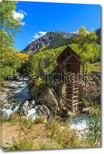 Мельница на реке Кристалл