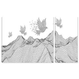 Голуби над вершинами
