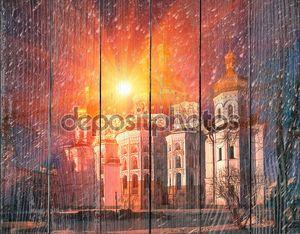 Киево-Печерская Лавра на рассвете