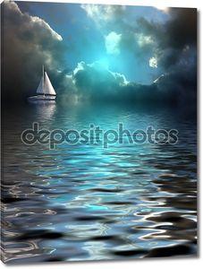 один судно