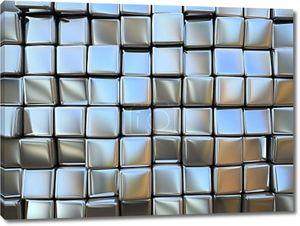Абстрактный узор площади металлических изделий