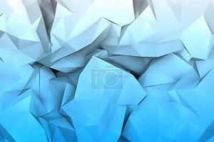 мятой бумаги синий