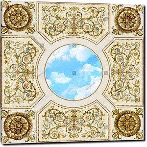 Бесподобный орнамент с небом в центре