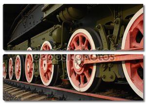 колеса локомотива