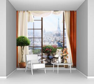 Уютный балкон в Париже