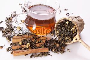 горячий чай!