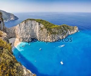 Навагио кораблекрушения Бич, Закинф, Греция