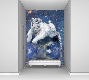 Белый тигр на Земле