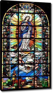 Библейские витражного стекла