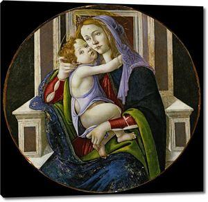 Боттичелли. Мадонна с младенцем
