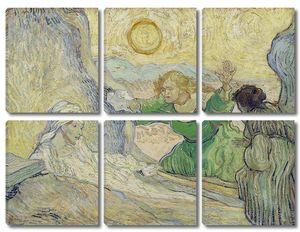 Ван Гог. Воскрешение Лазаря (копия Рембрандта)