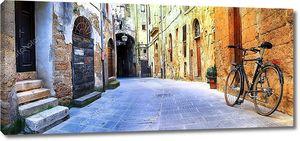 Живописные улицы старой Италии